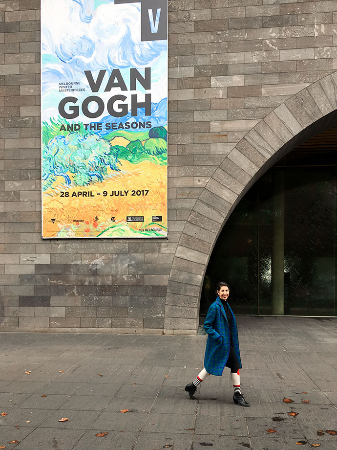NGV Melbourne - Van Gogh and the Seasons - mypoppet.com.au