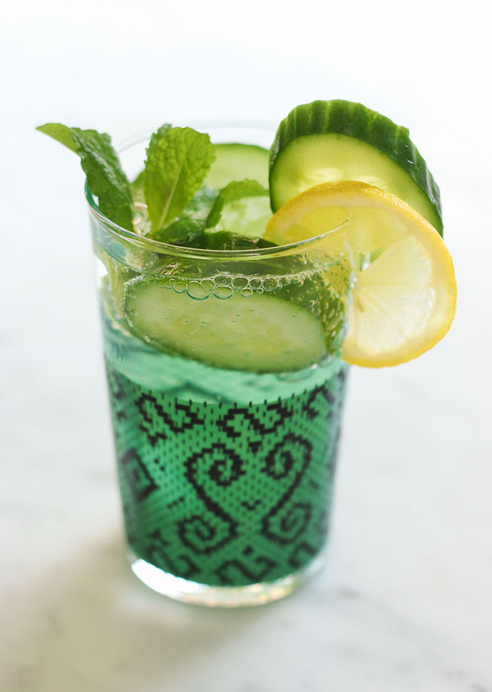 Thrist quencher - flavour infused soda recipe - mypoppet.com.au