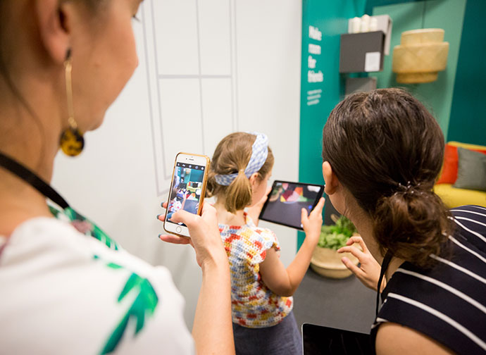 ACMI Melbourne Make room for Life Augmented Reality Exhibition