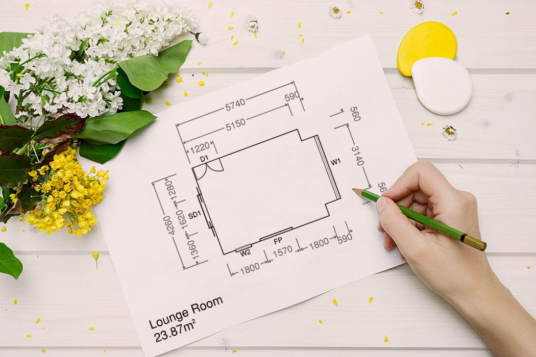 Room Plans blueprint - mypoppet.com.au