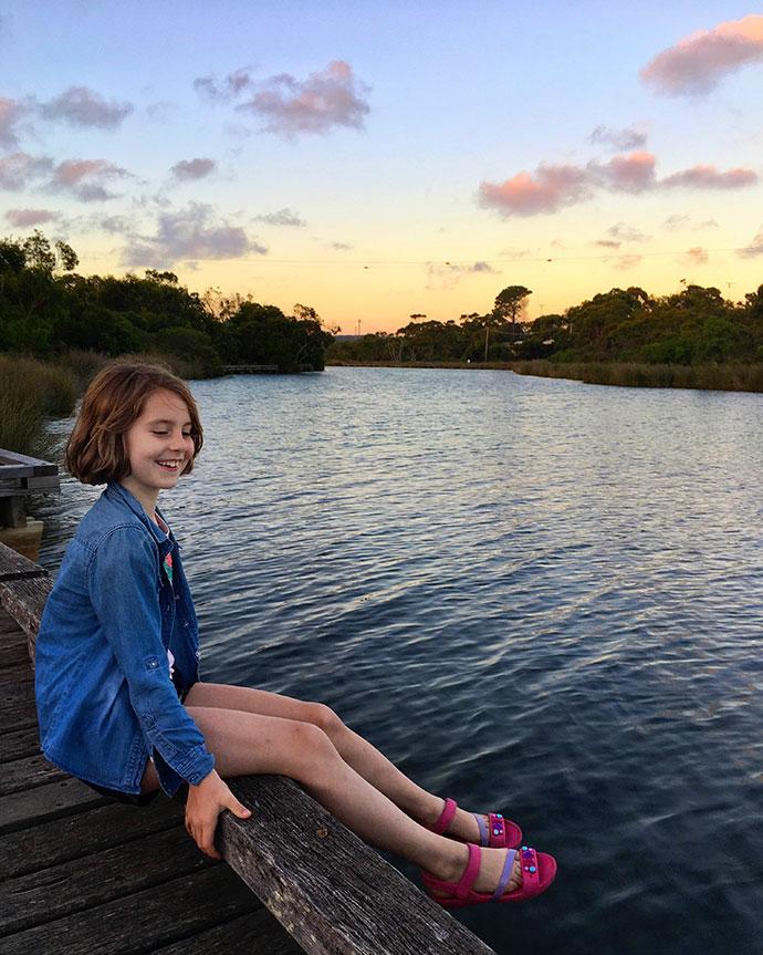 Anglesea river at dusk - mypoppet.com.au