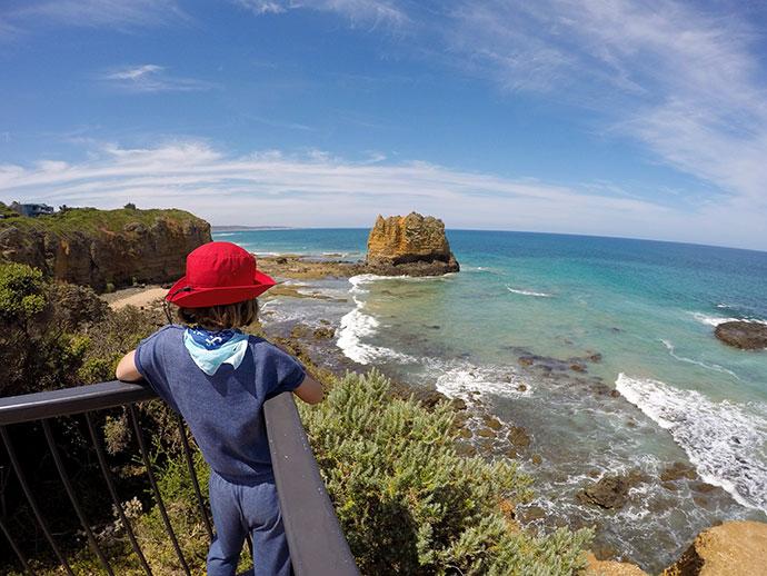 Surf Coat Walk - section 12 split Point - my poppet.com.au