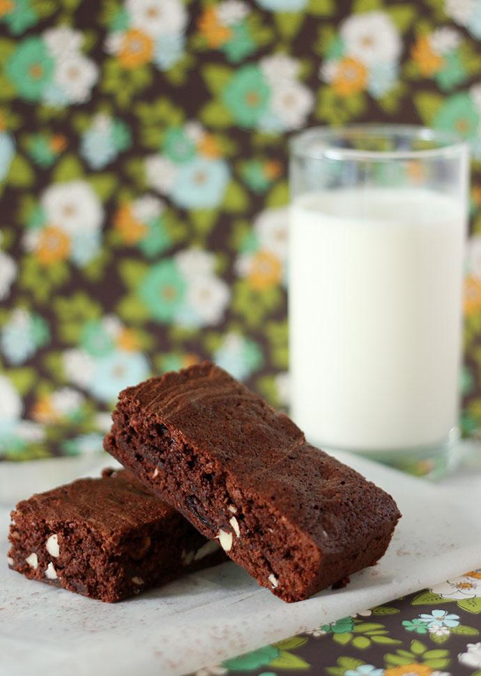 Fruit and Nut Chocolate Brownie recipe - mypoppet.com.au