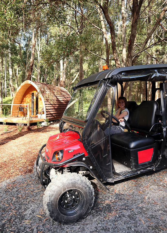 Glamping off-road buggy - mypoppet.com.au