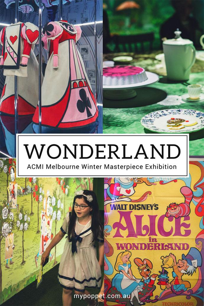 Wonderland - Alice in Wonderland in Film Exhibition - ACMI Melbourne Australia - mypoppet.com.au