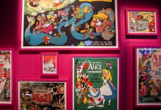 Wonderland - Alice in Wonderland in Film Exhibition - ACMI Melbourne Australia - mypoppet.com.au