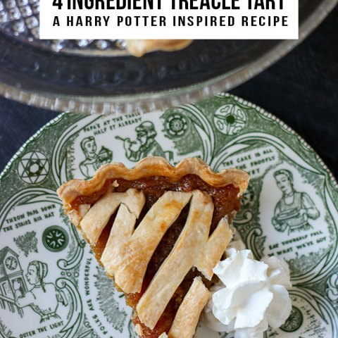 Harry Potter Recipe - Treacle Tart