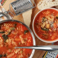 Winter Warming Minestrone Soup