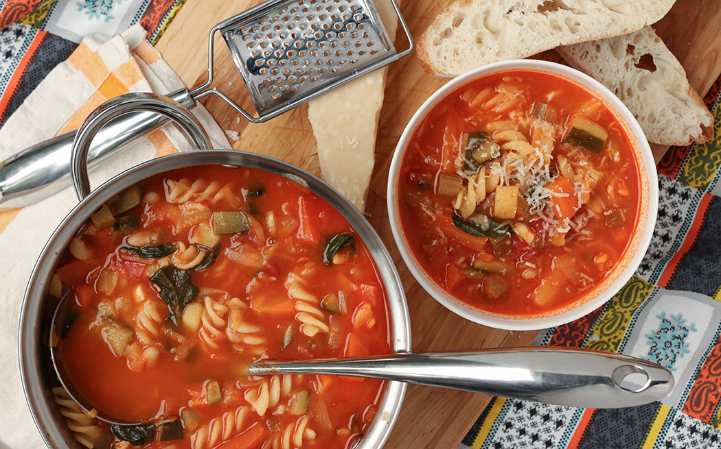 Family Favourite Minestrone Soup