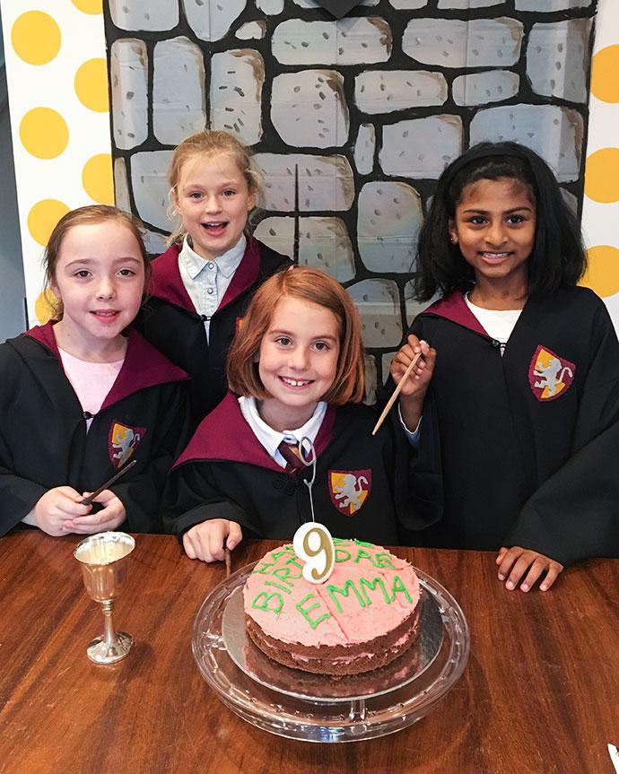 Harry potter Birthday cake - Hagrid - mypoppet