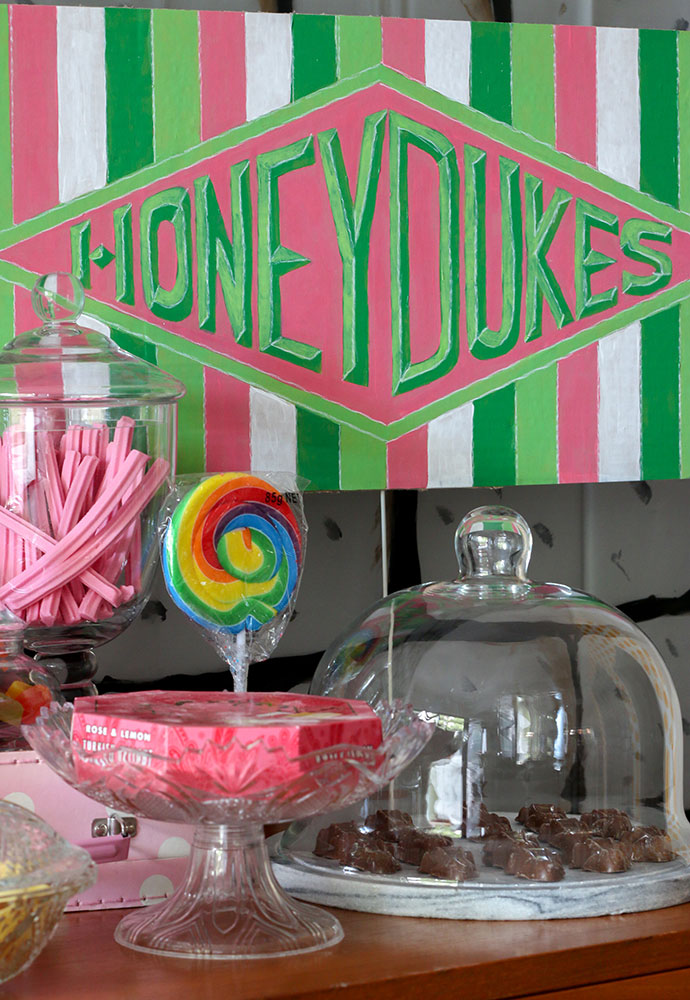 Harry Potter Party Ideas - honeydukes