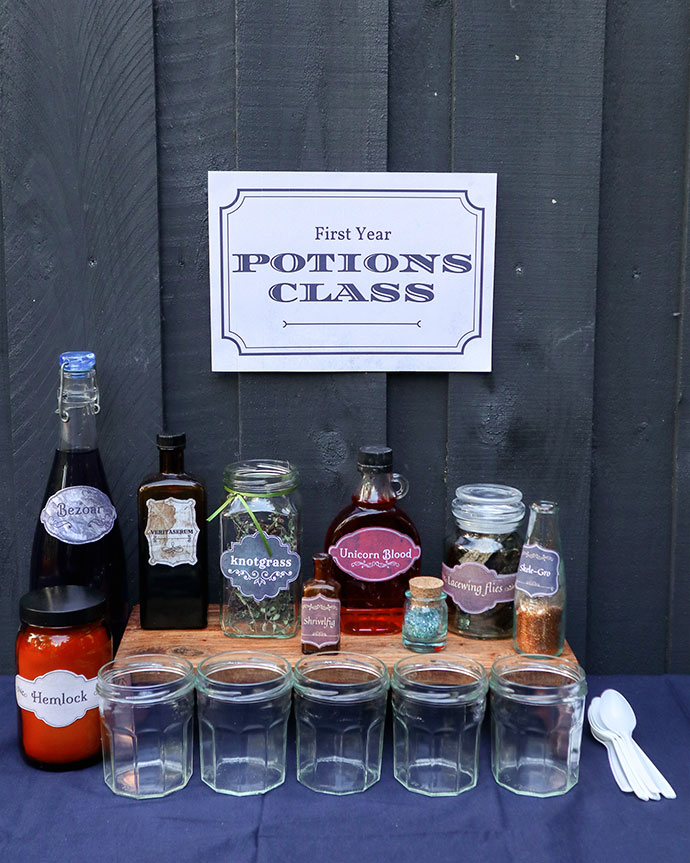Harry Potter Party Ideas - Potions class - mypoppet.com.au