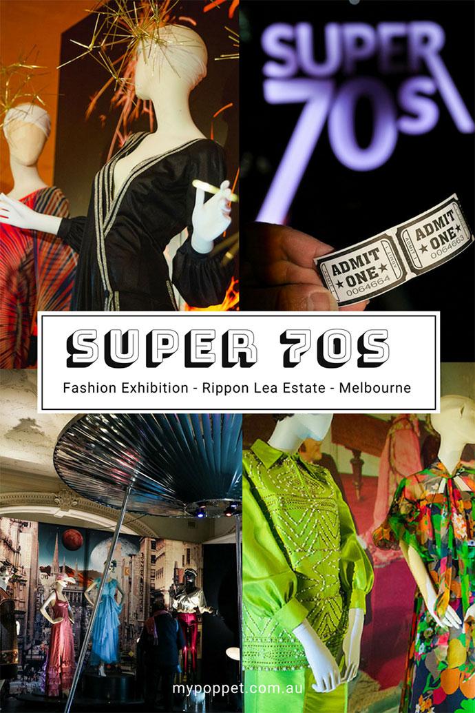 Super 70s Vintage fashion Exhibition Melbourne - mypoppet.com.au