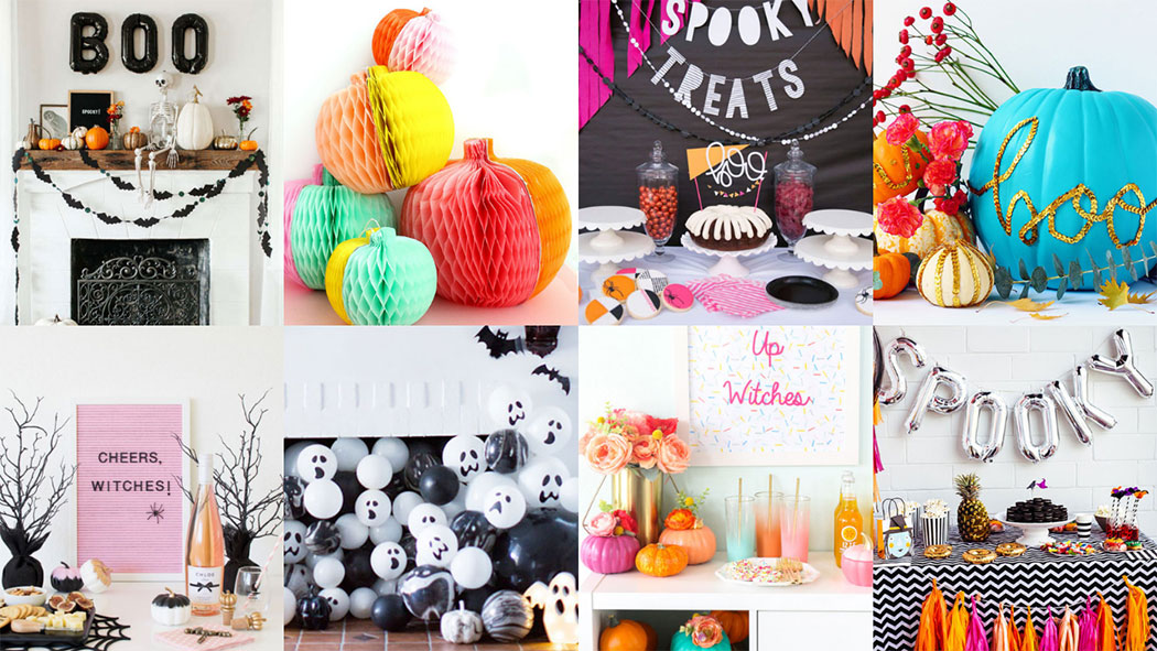 13 Modern Halloween Party Decoration Ideas + GIVEAWAY