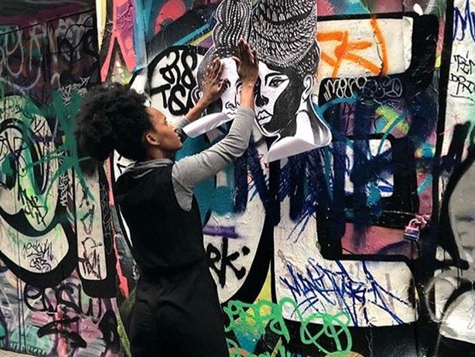Space 2 Be street art workshop