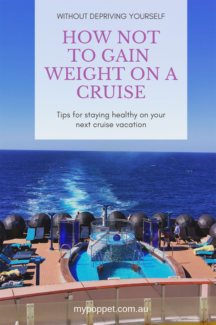 How to avoid cruise vacation weight gain