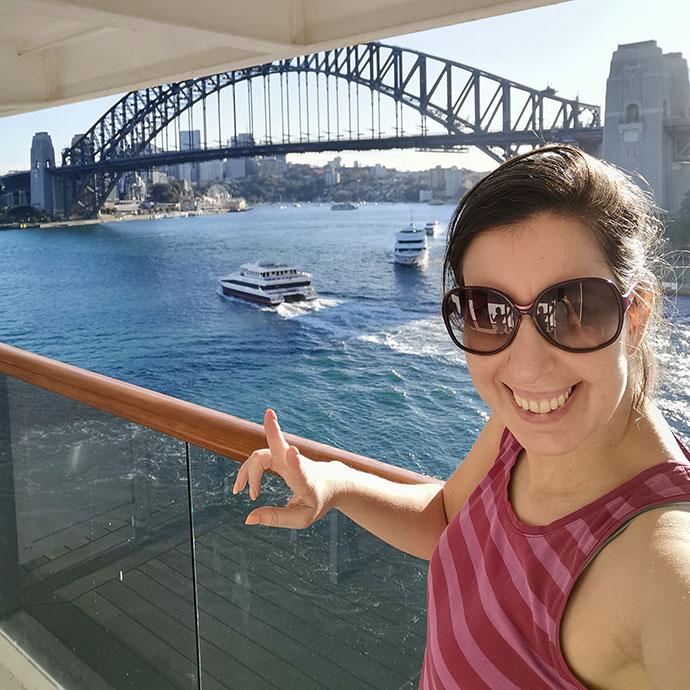 cruising from Sydney