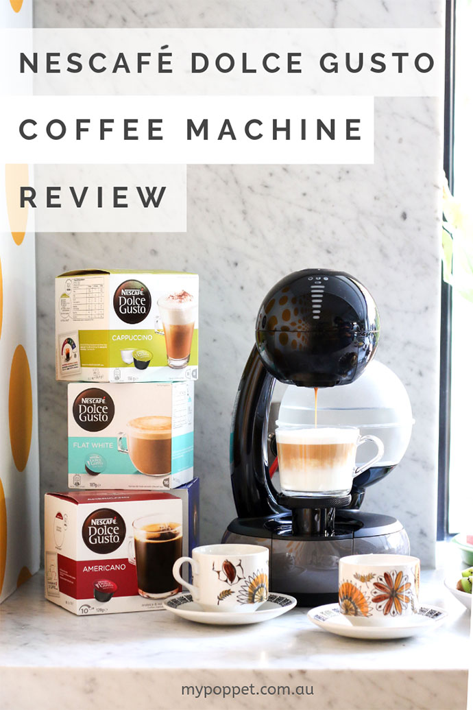Nescafe Dolce Gusto coffee machine review - mypoppet.com.au