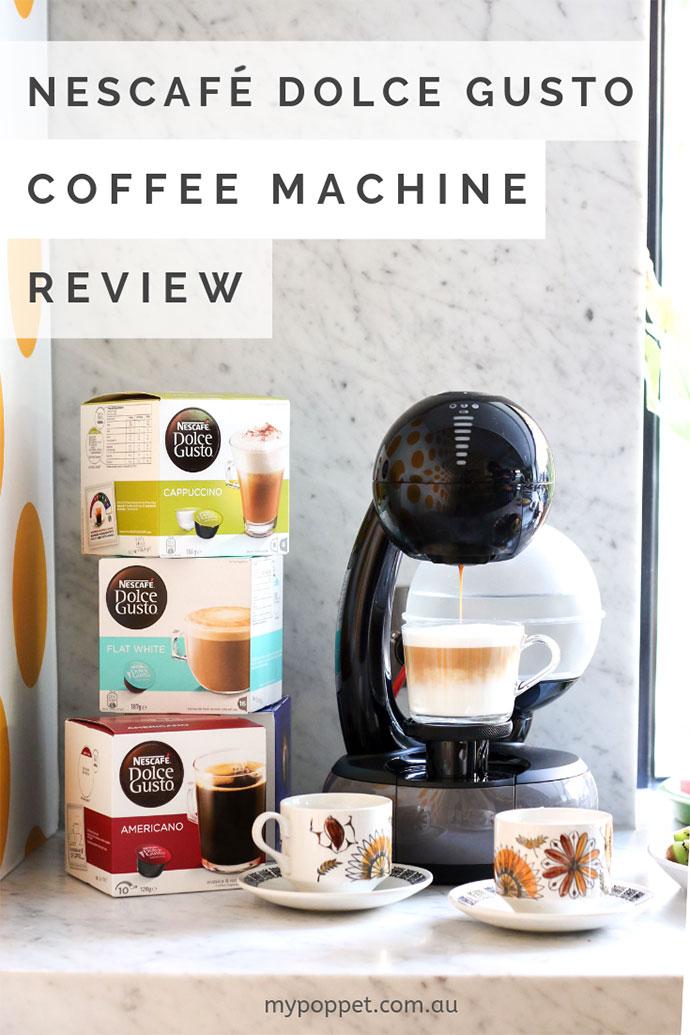 Nescafe Dolce Gusto coffee machine review - mypoppet.com.au