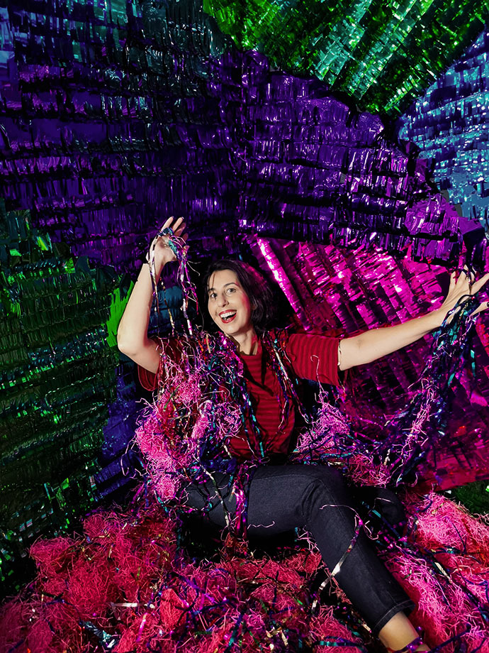 tinsel bath christmasland mypoppet.com.au