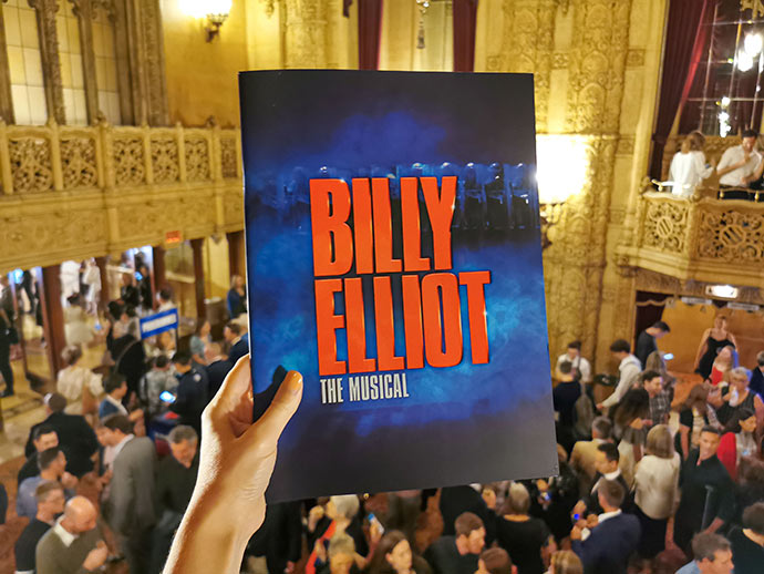 Billy Elliot The Musical program cover
