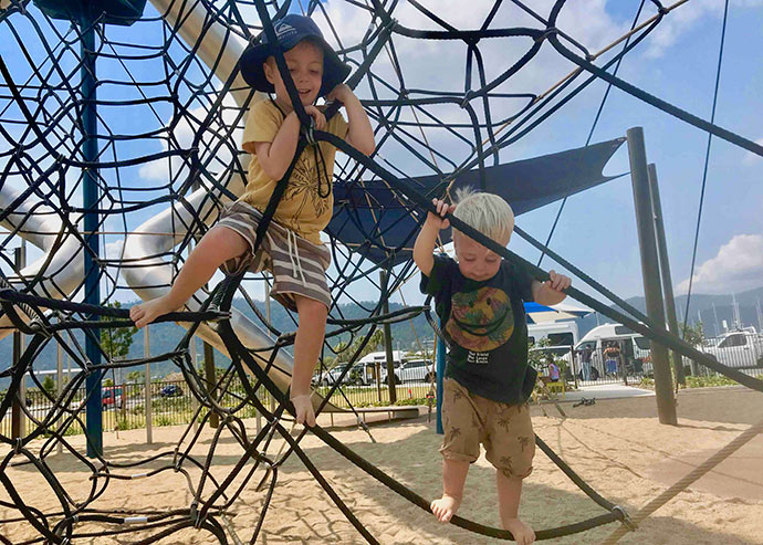 Playgrounds in Airlie beach