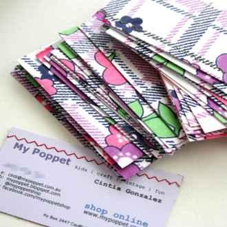 business card diy
