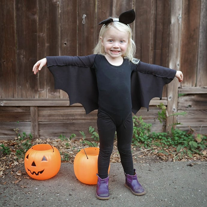 How to make Bat Wings for Halloween Costumes | My Poppet Makes