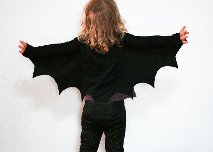 DIY bat wings - how to make instructions - mypoppet.com.au