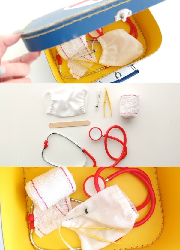 DIY Doctor Play set -mypoppet.com.au