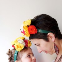 How To: Frida Kahlo inspired Floral Headband