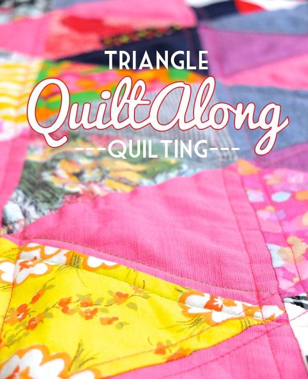 Triangle Quiltalong - Quilting Tutorial MyPoppet.com.au