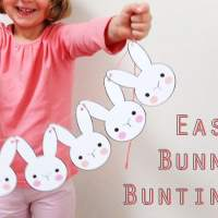 Bunny Bunting - Printable Easter Craft