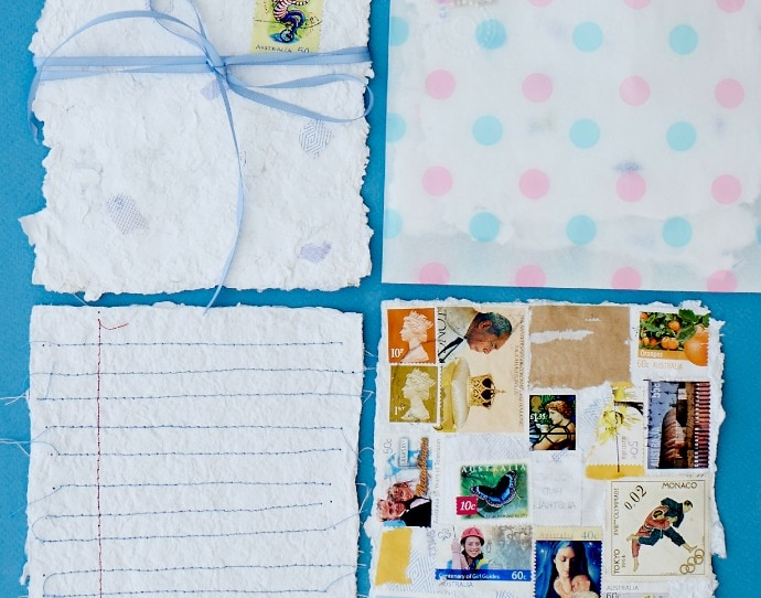 How to make handmade paper DIY instructions