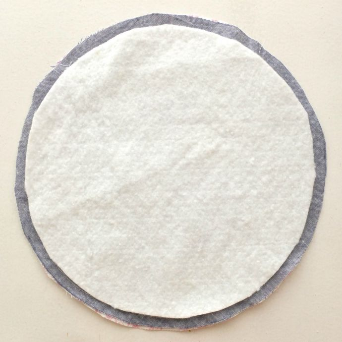 DIY quilted hot pad instructions