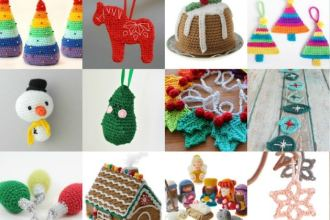 Cute Christmas Ornament Crochet patterns