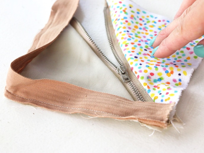 How to make a Fairy Bread Coin Purse DIY mypoppet.com.au