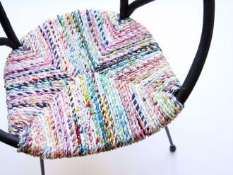 twine chair seat