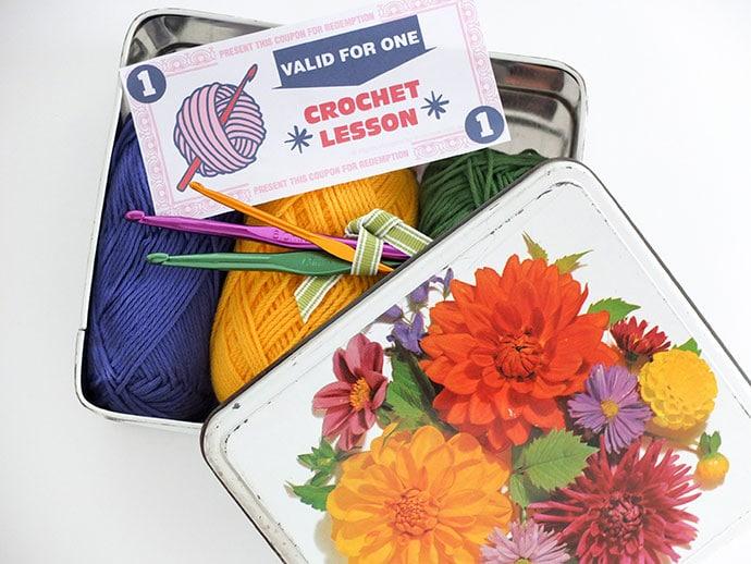 DIY crochet craft kit mypoppet.com.au