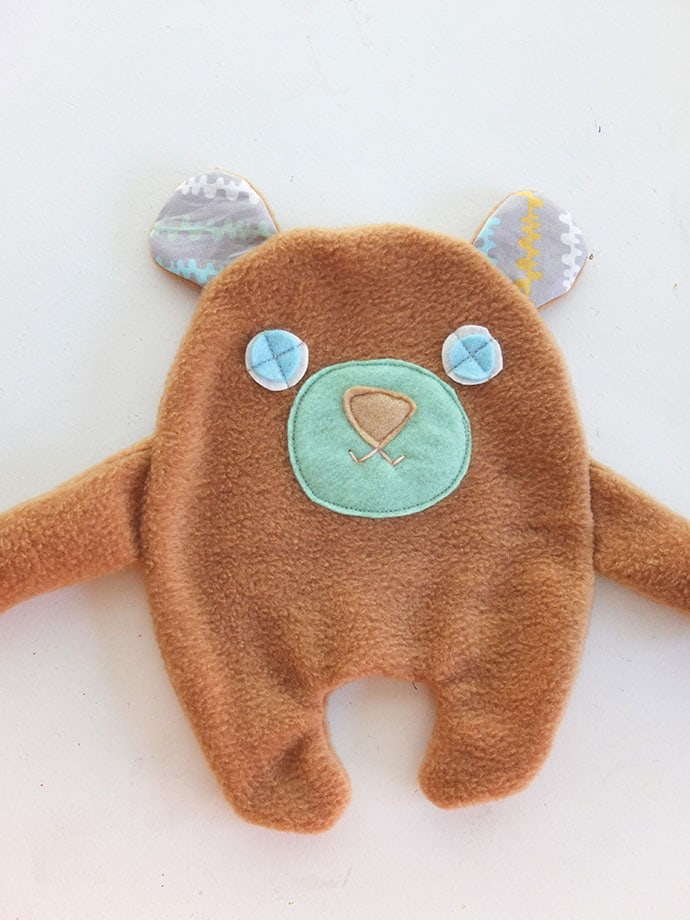 How to make a soft toy - free pattern