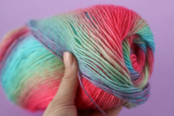 Red Heart Unforgettable yarn review and pattern - mypoppet.com.au