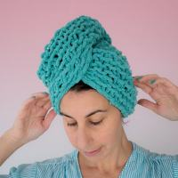 Knitting Pattern - After Shower Hair Turban