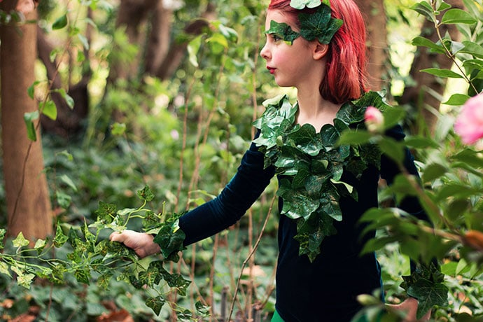 DIY: Poison Ivy Cosplay