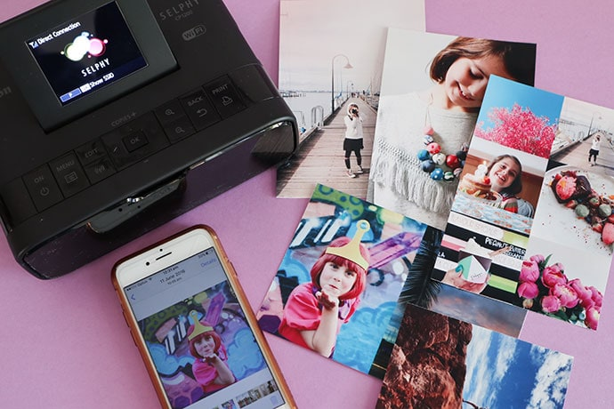 How to Print your Favourite Photos at Home + Canon Selphy Printer Giveaway