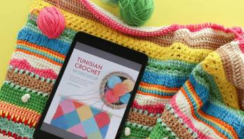 9 Free Tunisian Crochet Patterns For Beginners My Poppet Makes