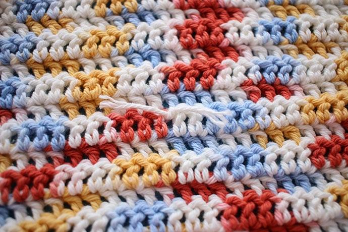 how to join yarn in crochet pattern