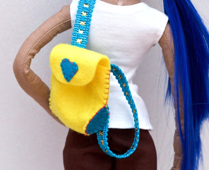 Doll Backpack pattern - mypoppet.com.au