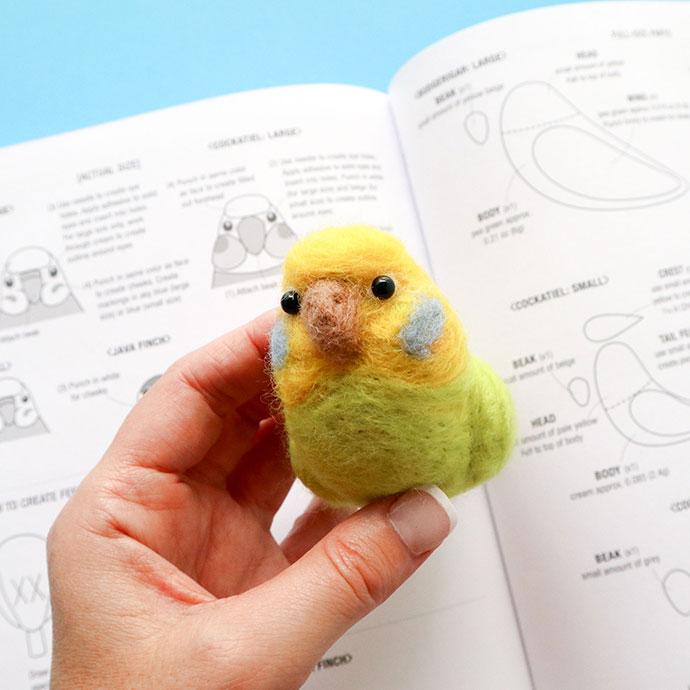 Needle Felted Bird - mypoppet.com.au