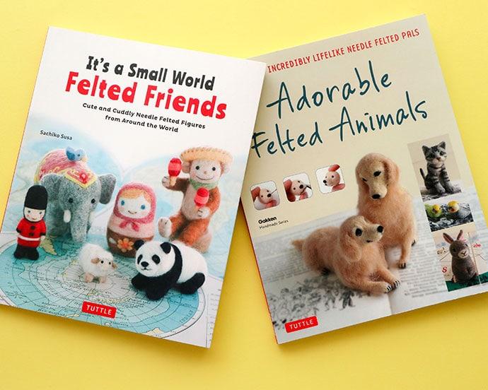 Needle Felting Craft Book Review - mypoppet.com.au