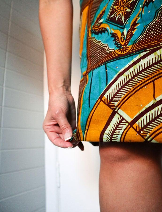 how to hem a skirt - mypoppet.com.au